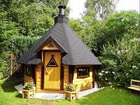 grillkota ist ein gartenhaus mit integriertem grill und. Black Bedroom Furniture Sets. Home Design Ideas